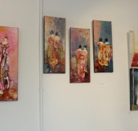Expo peintures Chantal LONGEON