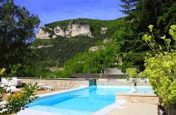 Hotel de la Jonte Piscine