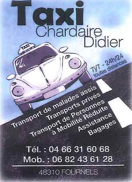 TAXI CHARDAIRE DIDIER