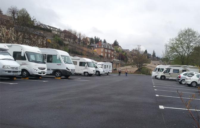 Aire De Stationnement Camping Car De Mende Mende