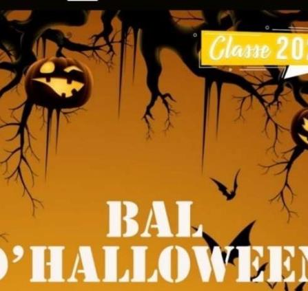 Bal Halloween classe 2024 -30-10