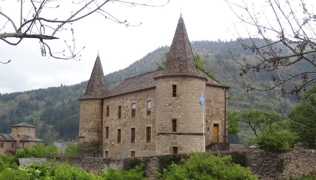 Chateau du Parc national des Cevennes