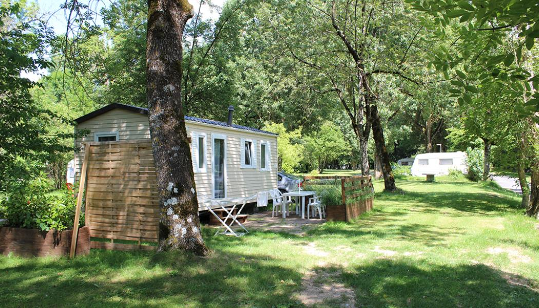 mobil-homes du camping les peupliers