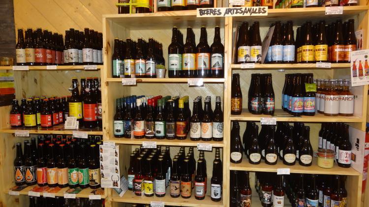 côté cave les bières locales