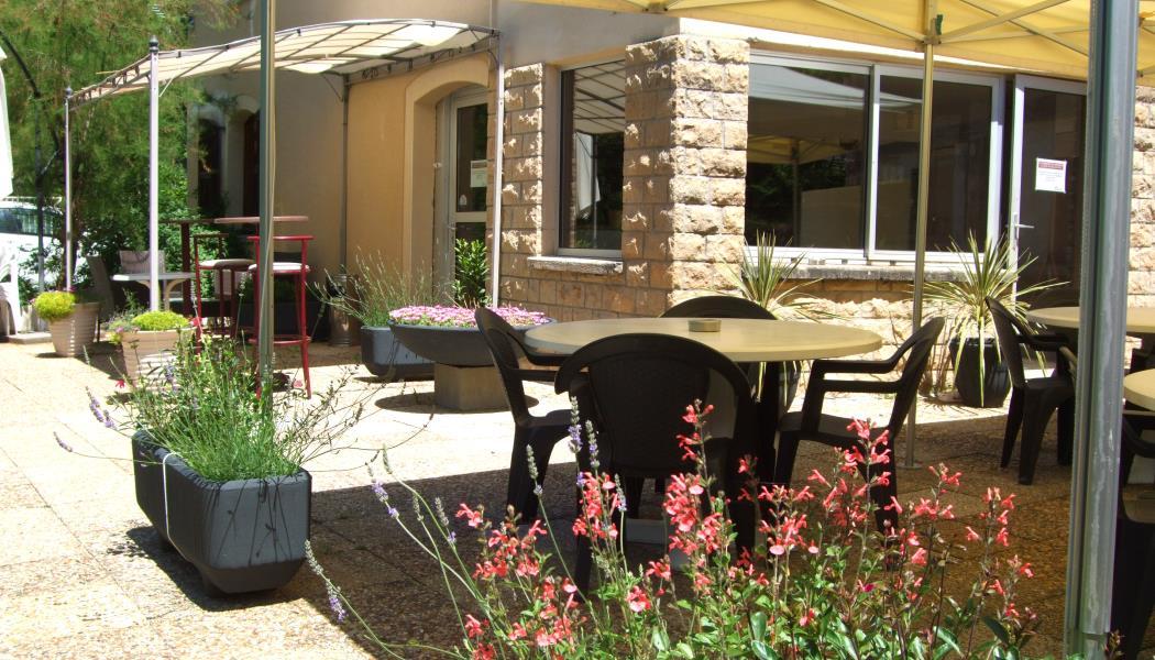 Terrasse du restaurant & du bar