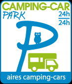 aire camping car park mende causse