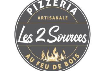 PIZZERIA LES 2 SOURCES Logo