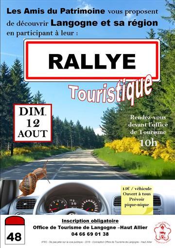 Rallye touristique 12-08