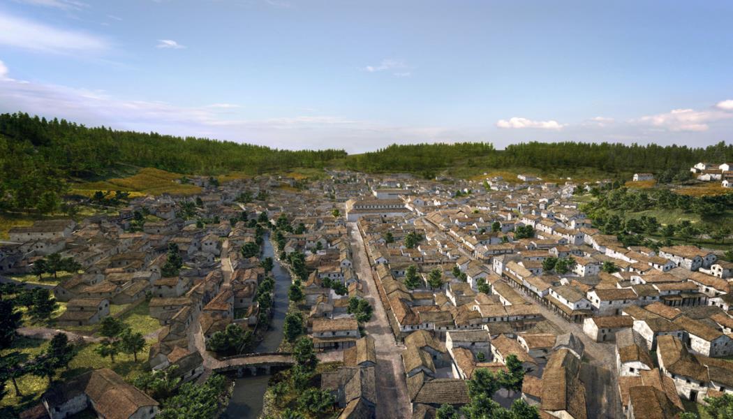 Restitution ville d'Anderitum