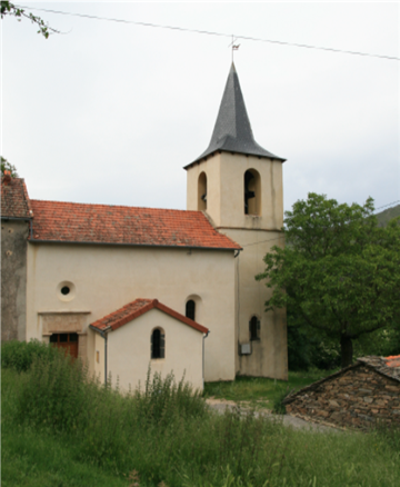 Eglise d'Alzon