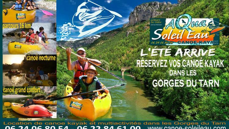 canoe-gorgesdutarn-aveyron-lozere-location-kayak-aquasoleileau-canoe-nocturne