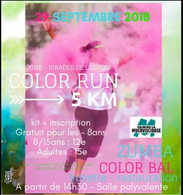 color run 29 sept
